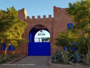 Petit havre de paix dans un village à Marrakech