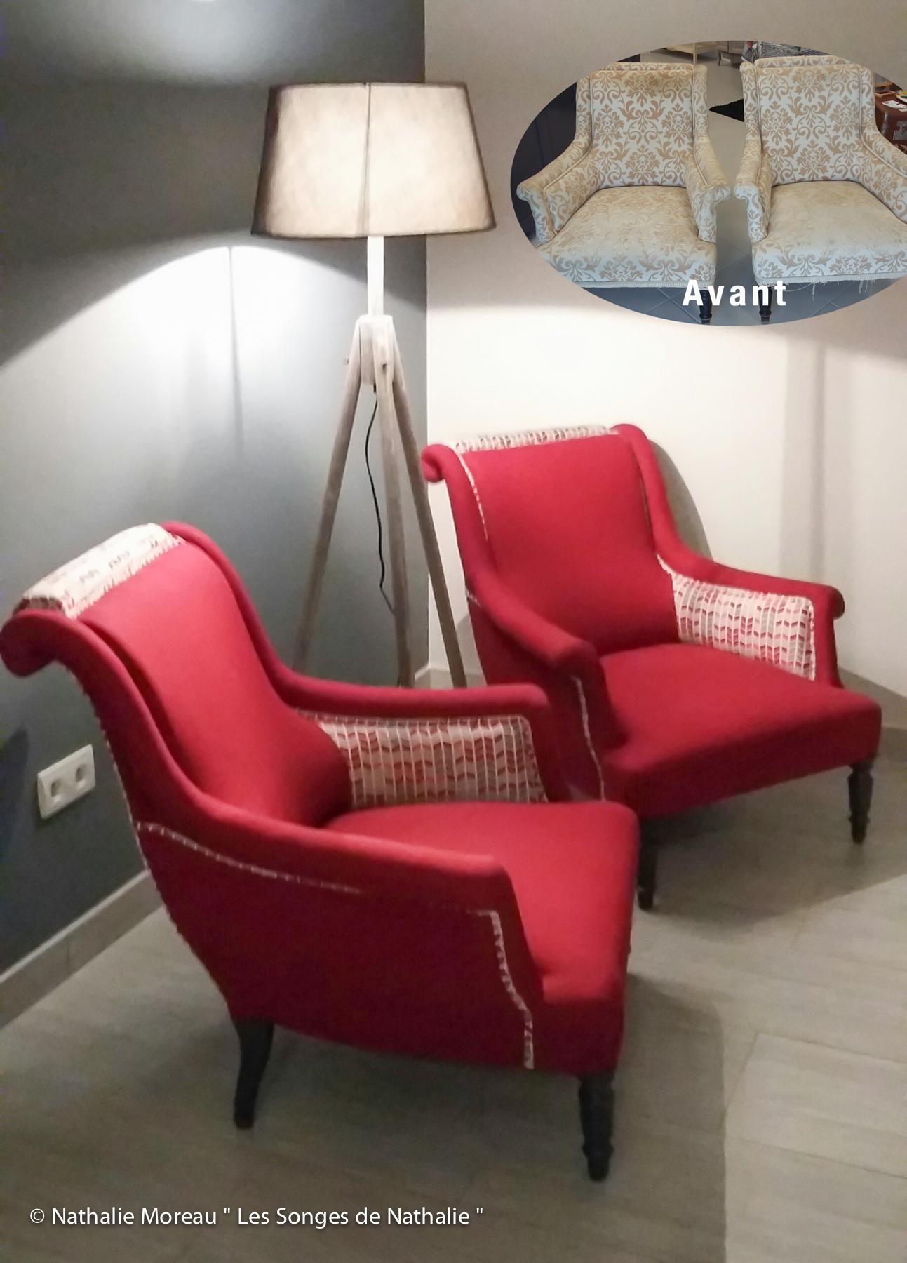2 fauteuils pour un espace lecture