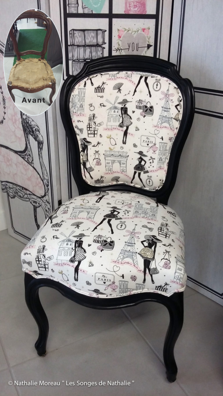 Une chaise trés girly