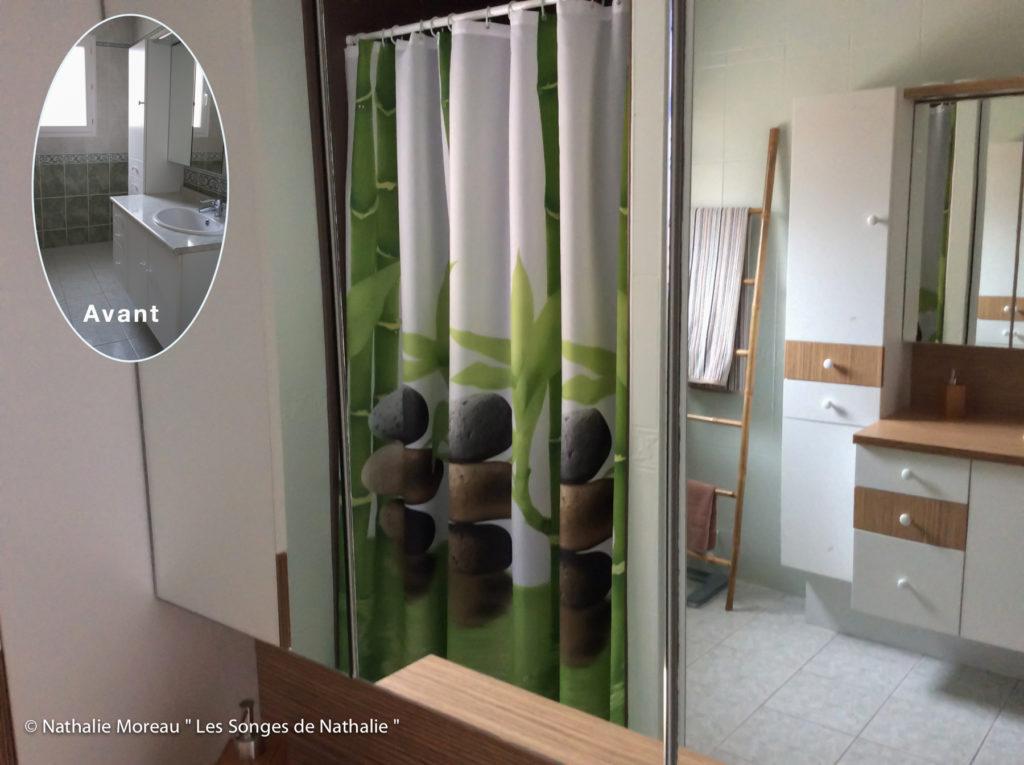 Relooking d'une salle d'eau esprit zen